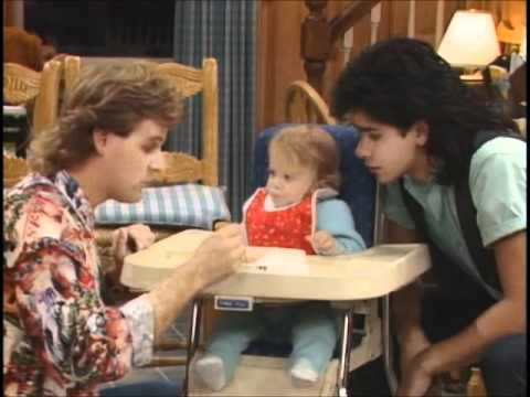 Full House – Cute / Funny Michelle Clips From Season 1 (Part 1)