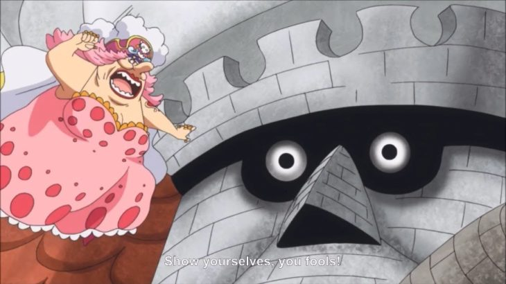 Big Mom Injures Bege – One Piece 840