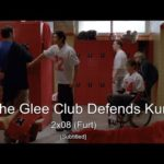 GLEE- The Glee club defends Kurt from Karofsky | Furt [Subtitled] HD
