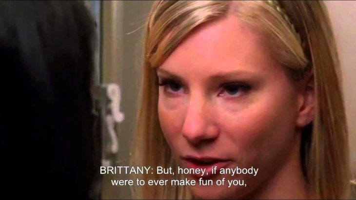 GLEE- Santana admits she loves Brittany | Sexy [Subtitled] HD