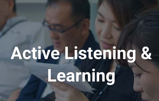 Active Listening&Learning
